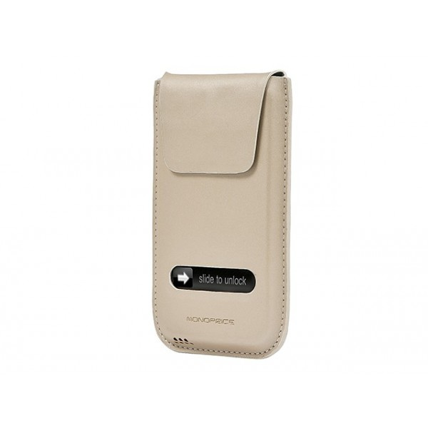 Pocket Protector with EZ Answer for iPhone 4/4s - Beige, IPH4-8869