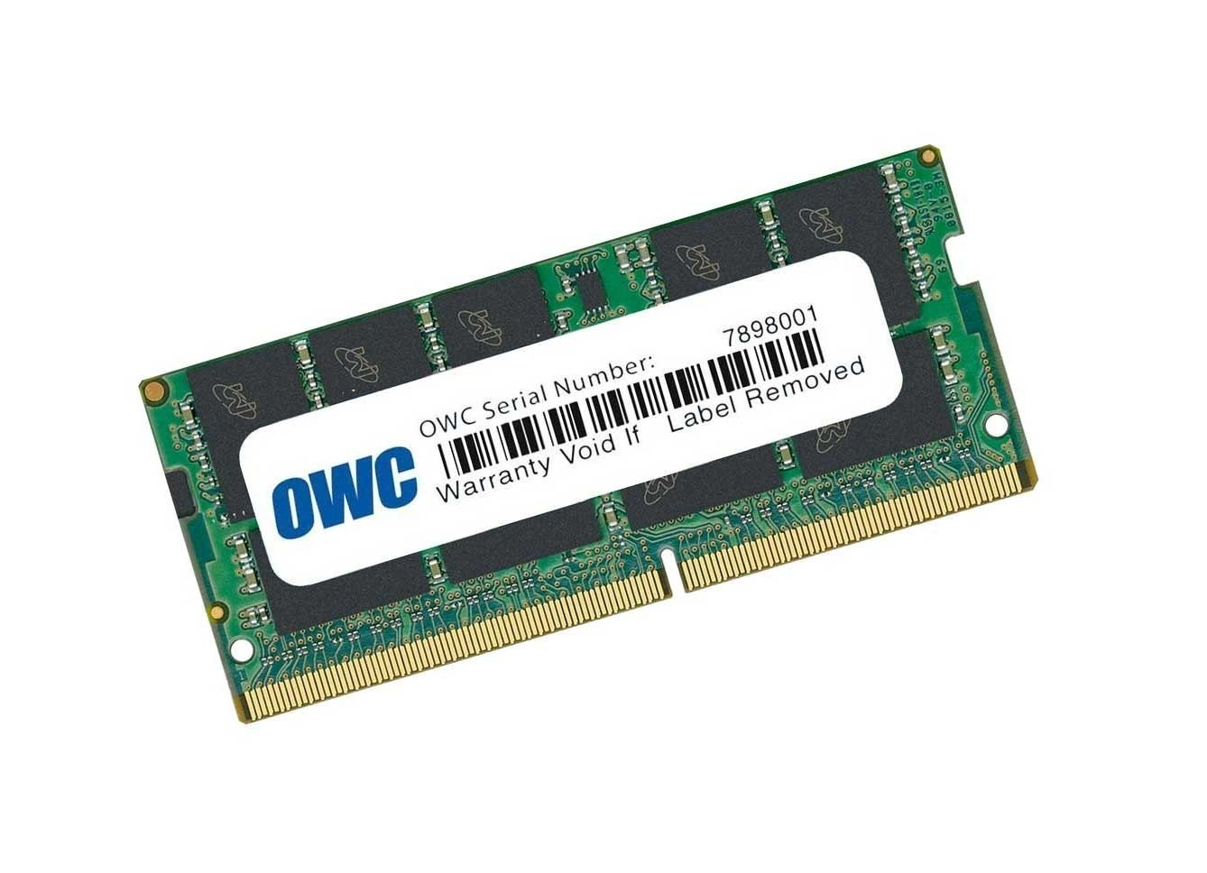 32.0GB 2666MHz DDR4 SO-DIMM PC4-21300 SO-DIMM 260 Pin Single Module Memory Upgrade, OWC2666DDR4S32G