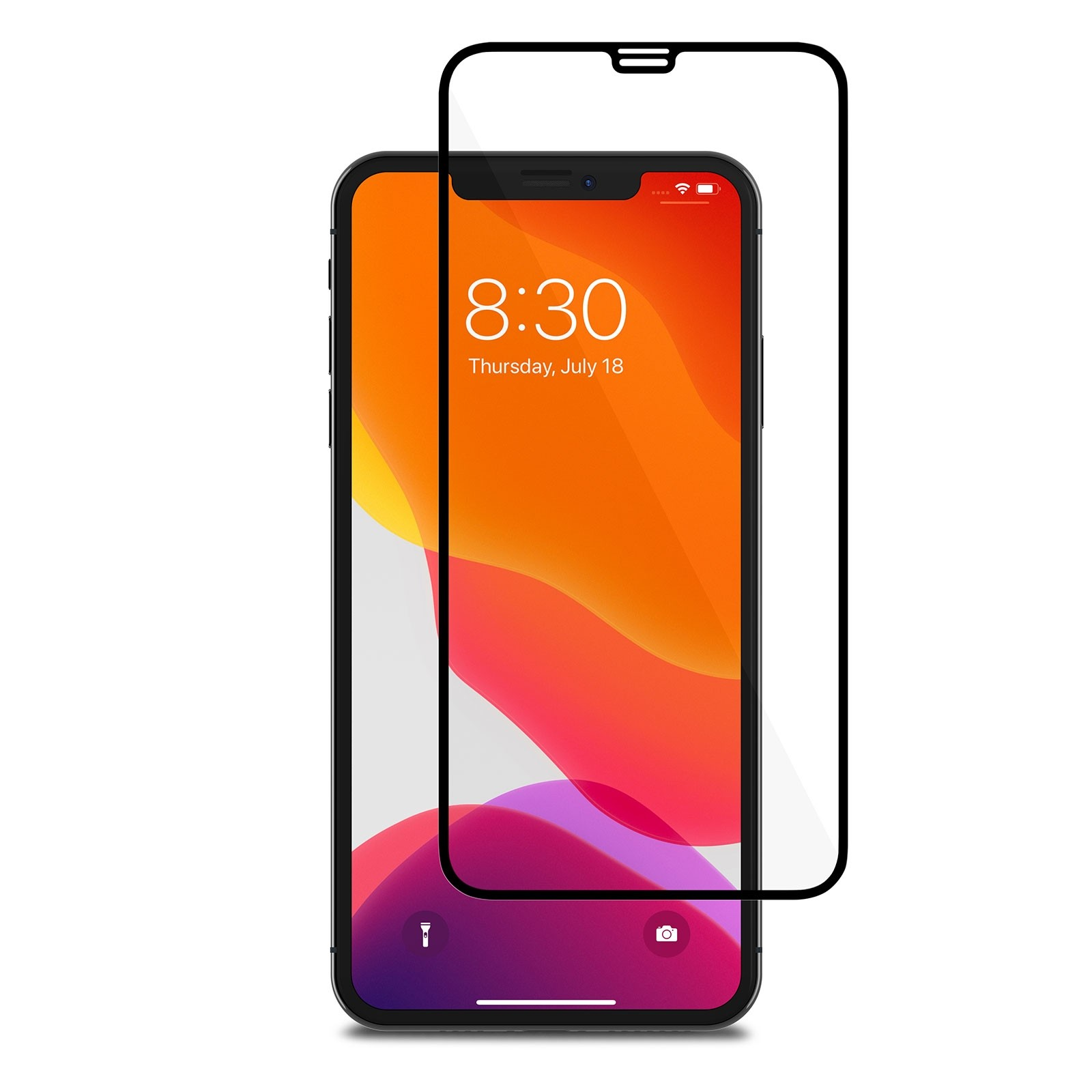 **DISCONTINUED** Moshi IonGlass for iPhone 11 Pro Max / Xs Max - Black, 99MO096022