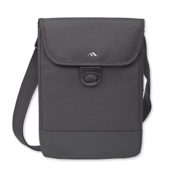"Brenthaven Tred™ Vertical Messenger Bag w/ Strap for MacBook Air 11"" - Black, BR-2778"
