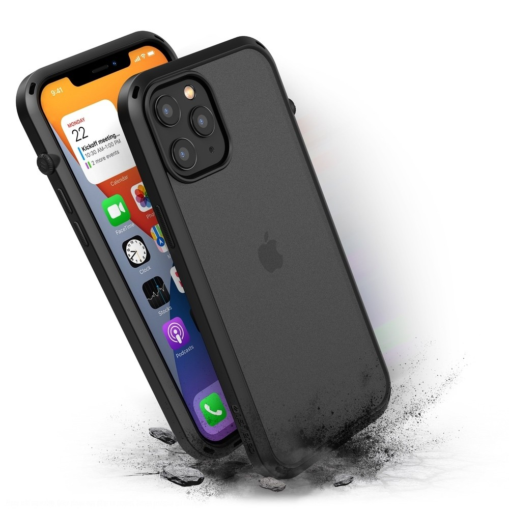 Catalyst Influence Impact Case for iPhone 12 Pro Max - Black, CATDRPH12BLKL