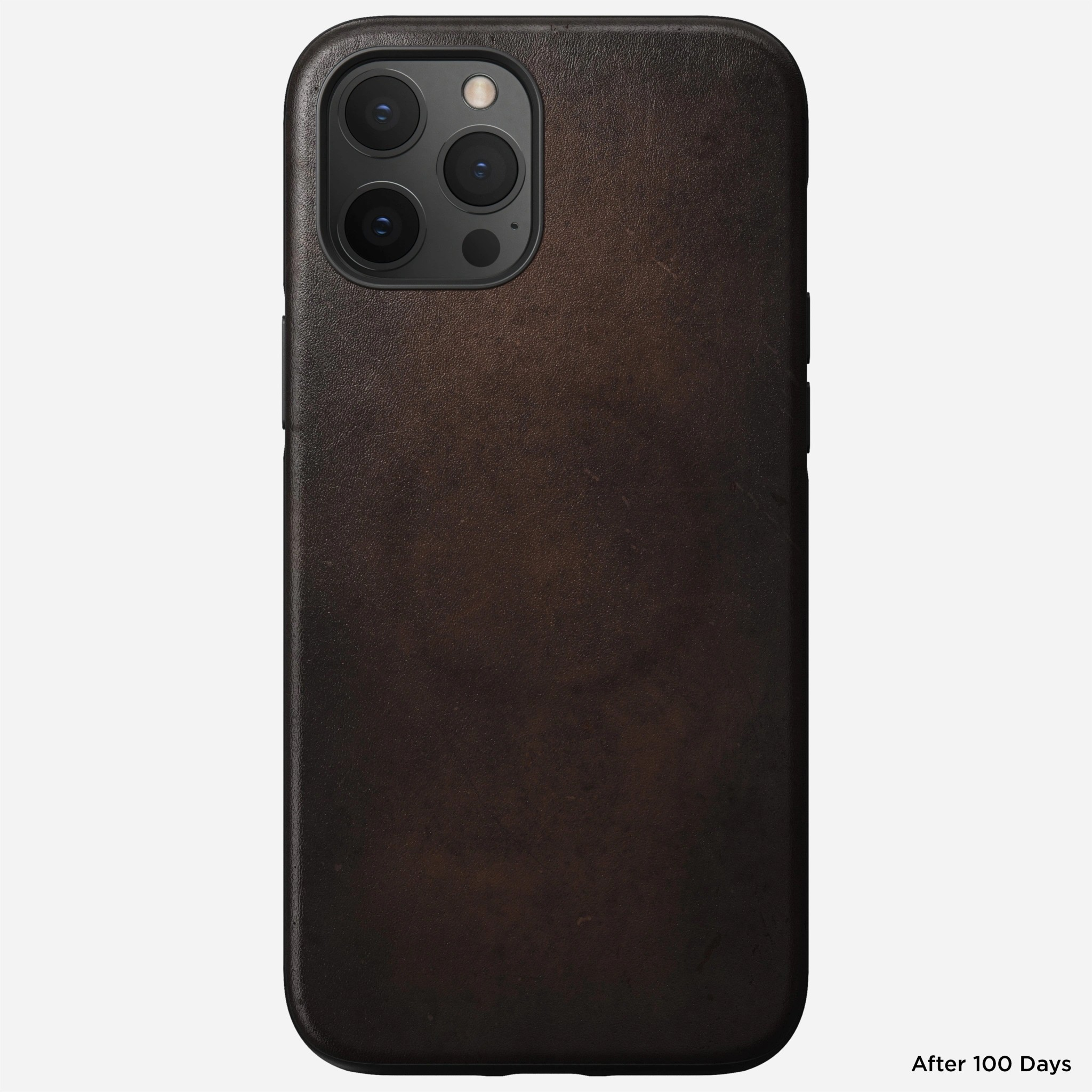 Nomad - MagSafe Leather Case - iPhone 12 Pro Max - Rustic Brown, NM01970385