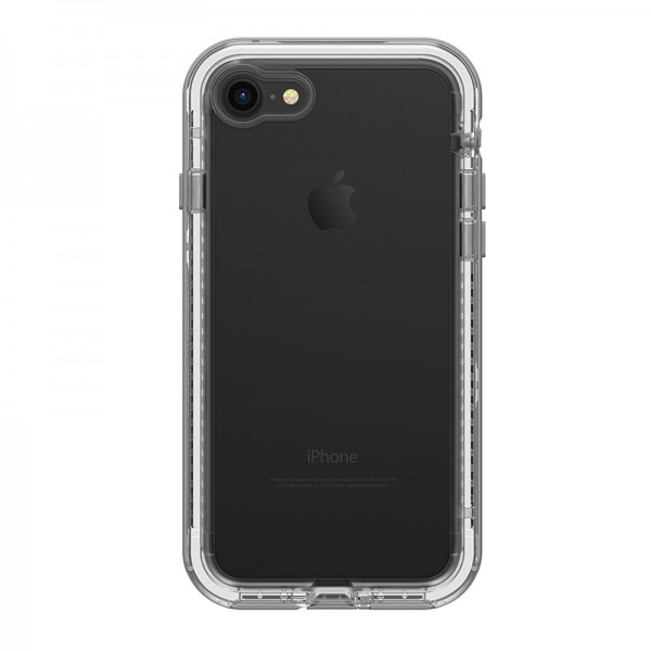 **DISCONTINUED** LifeProof Next Case Suits iPhone 8/7 - Clear/Grey, 77-57191