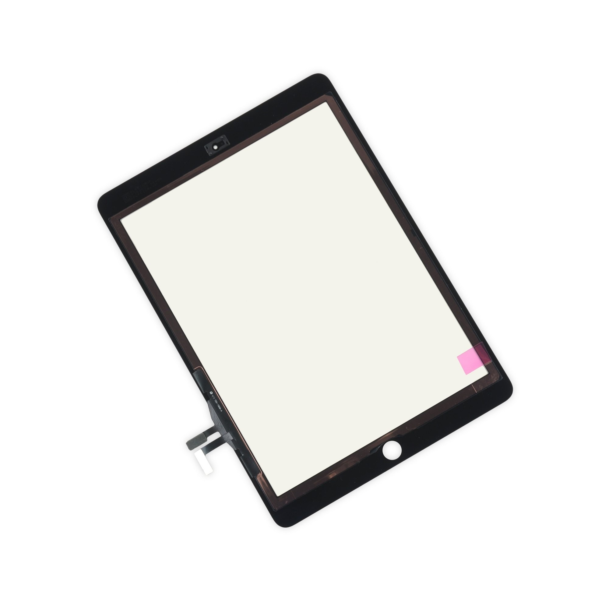 iFixit iPad 5 Front Glass/Digitizer Touch Panel, New, Fix Kit - Black, IF128-000-9