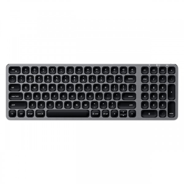 Satechi Compact Backlit Bluetooth Keyboard - Space Grey, ST-ACBKM