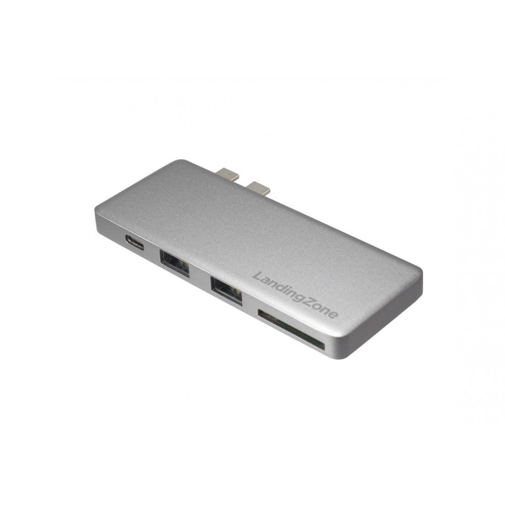 LandingZone USB Type-C Hub for New MacBook Pro - Space Grey, OH001G