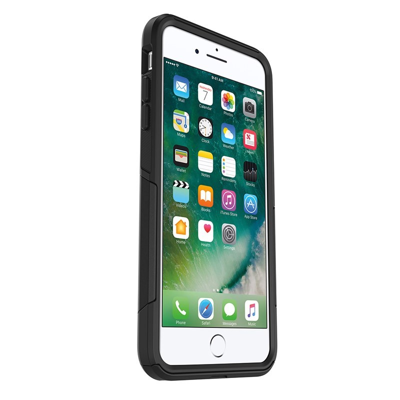 OtterBox Commuter Series Case for iPhone 8 & iPhone 7 - Black, 77-56650