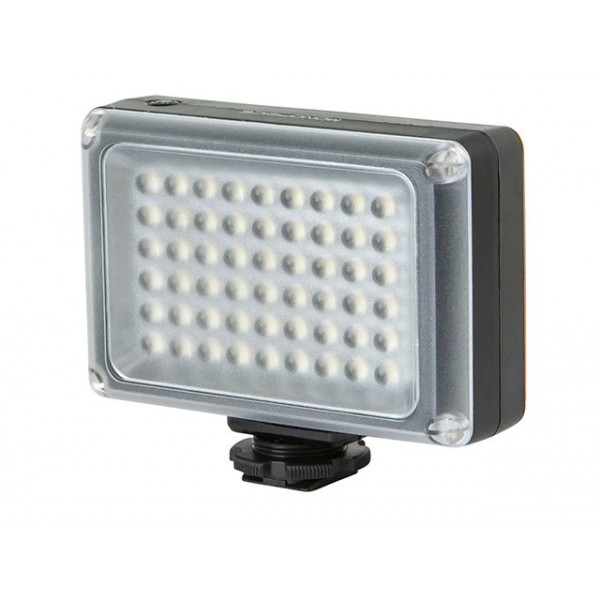 LED Camera Light with 54-Piece LED and 5,500K Color Temperature, LED-9878