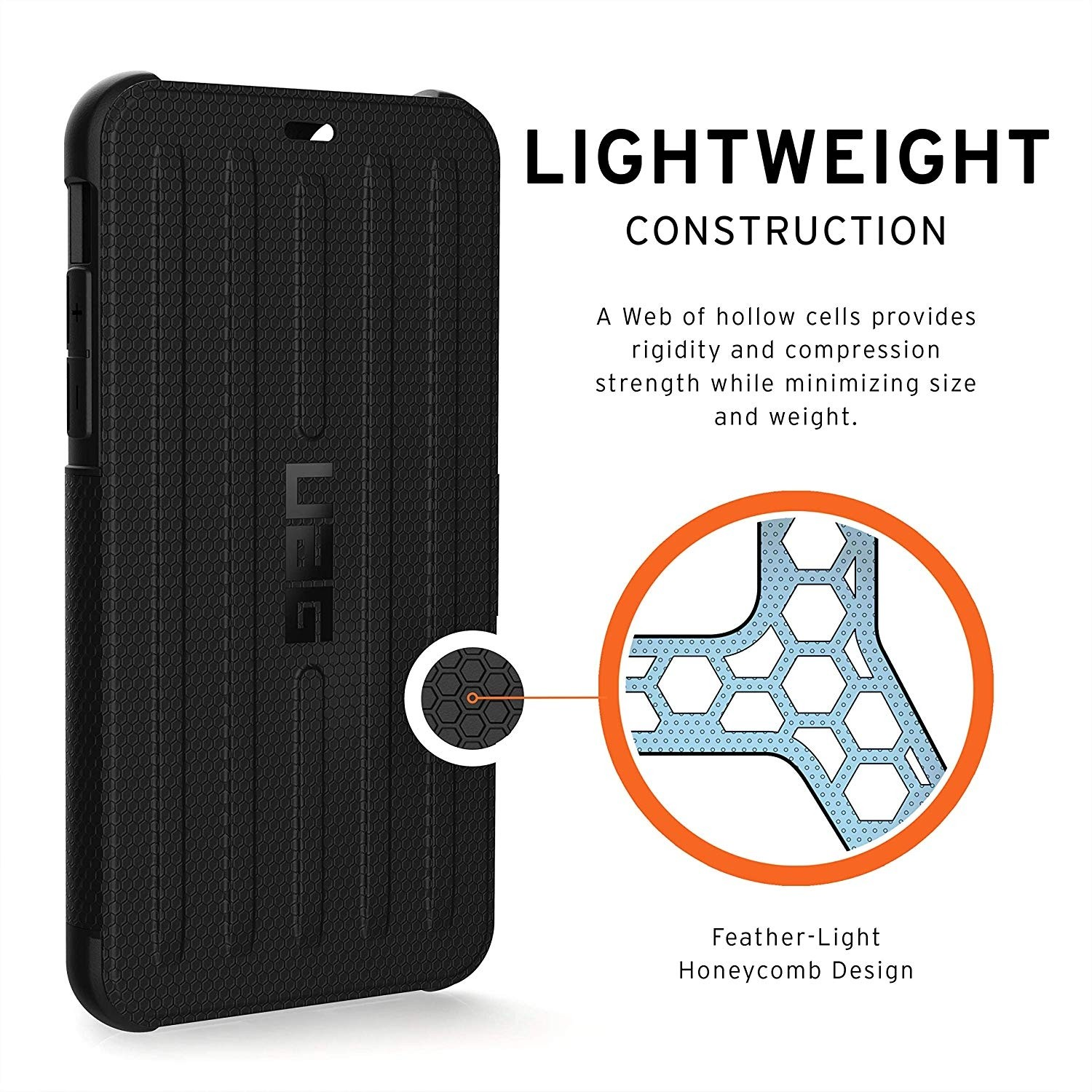 UAG Metropolis Case for iPhone 11 Pro Max, Feather-Light Rugged Military Drop Tested - Black, 111726114040