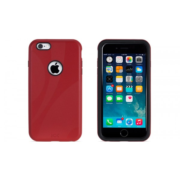 NewerTech NuGuard KX for iPhone 6 Plus/6S Plus - Red, IPH6+KX-RD