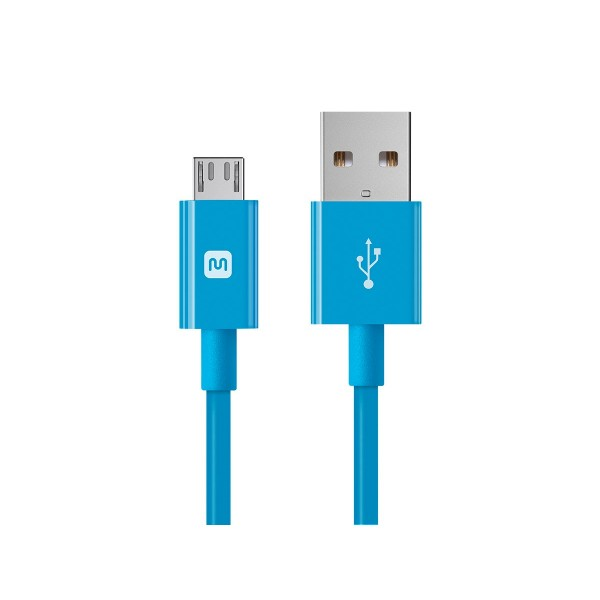 Select Series USB A to Micro B Charge & Sync Cable 10ft Blue, 13935