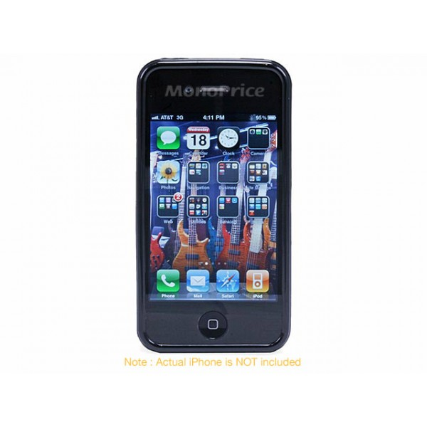 TPU Case for iPhone 4/4s - Black, *IPH4-7104