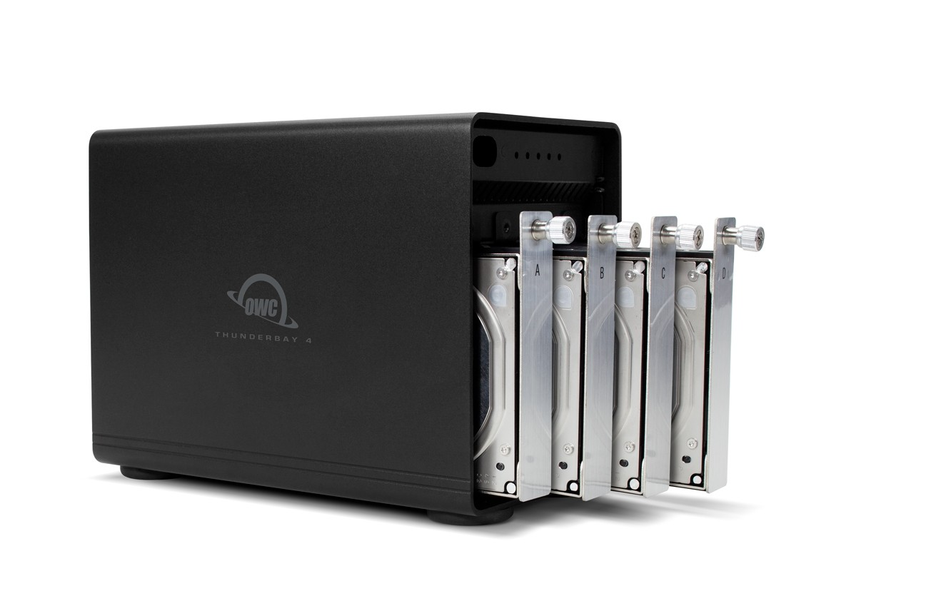 56.0TB OWC ThunderBay 4, four-drive HDD with dual Thunderbolt 2 ports, RAID-ready Solution, OWCTB2IVT56.0S