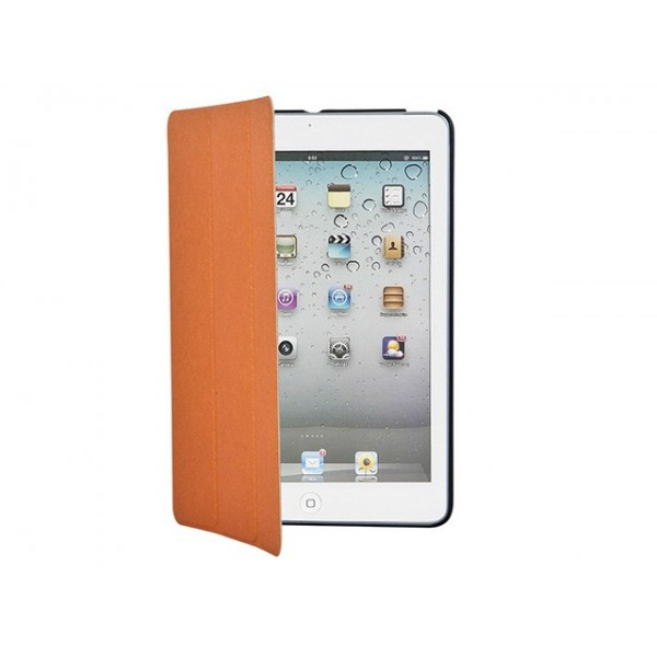 Iridescent Stand/Cover with Magnetic Latch for iPad mini 1 - Orange, IPM1-10302