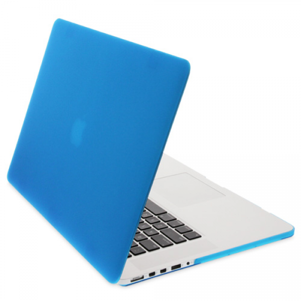 """NewerTech NuGuard Snap-On Laptop Cover for 15"""" MacBook Pro with Retina display (2012-2015) - Light Blue, NWT-MBPR-15-LIBU"""