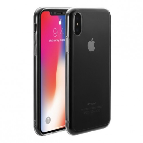 TENC (The Emperor's New Clothes) case for iPhone X - Clear