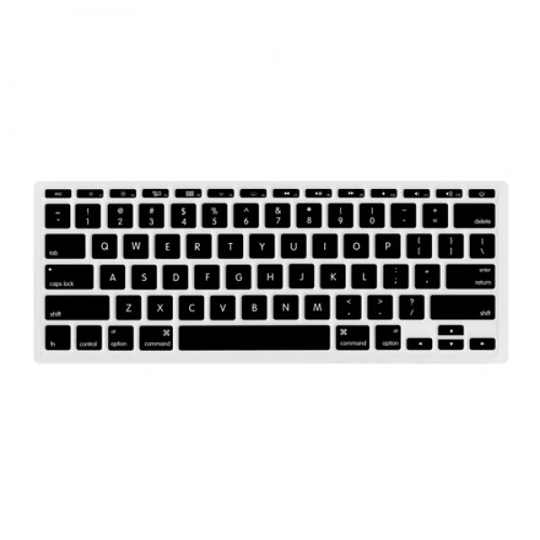 "NewerTech NuGuard Keyboard Cover for all 2011-2016 MacBook Air 11"" models - Black , NWTNUGKBA1211B"