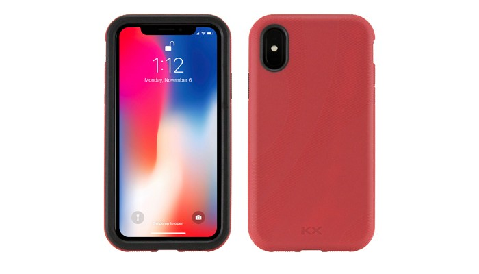 NewerTech NuGuard KX Case for iPhone X/Xs - Red, NWTKXIPH10CR