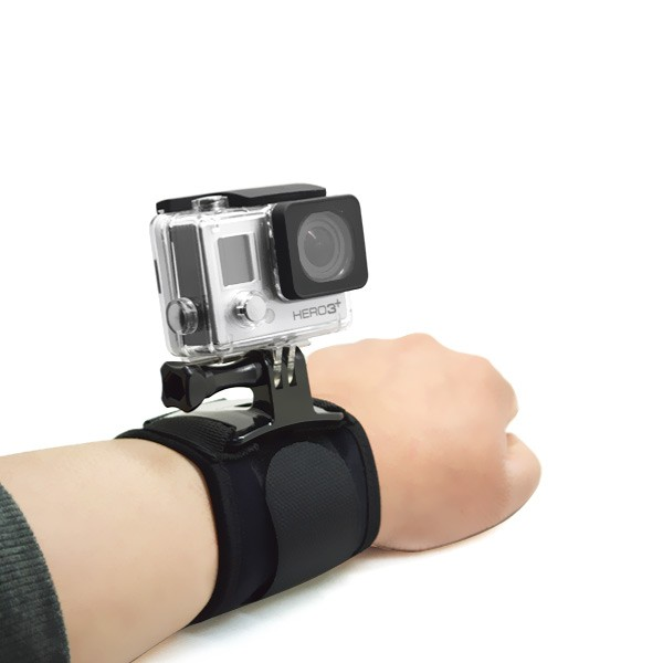 Wrist Mount with Screw for GoPro Hero 4/3+/3/2/1, GOPRO-60778