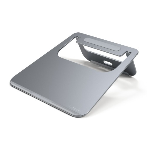 Satechi Lightweight Aluminum Portable Laptop Stand for Laptops, Notebooks, and Tablets - Space Grey