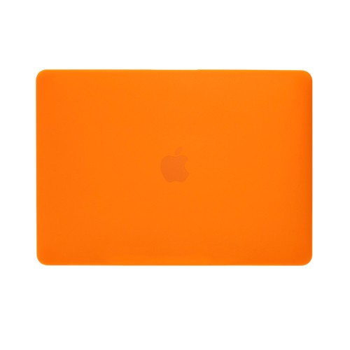 """NewerTech NuGuard Snap-on Laptop Cover for 12"""" MacBook (2015 - Current) - Orange, NWTNGSMBC12OR"""