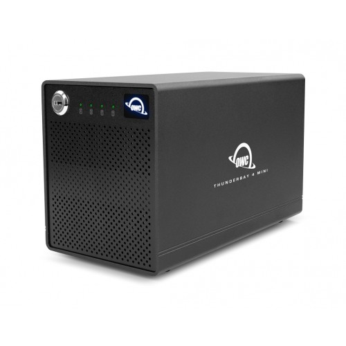 OWC ThunderBay 4 mini RAID Ready Four-Bay External Thunderbolt 3 Storage Enclosure