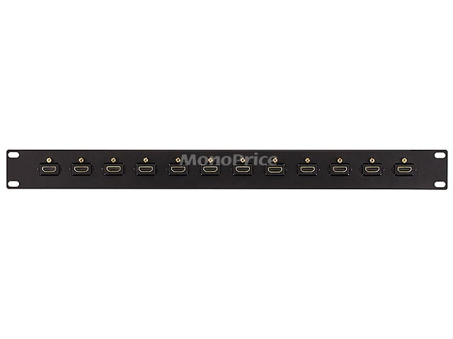 19 inches 12-Port HDMI Interface Patch Panel, HDMI-SPLIT-8061