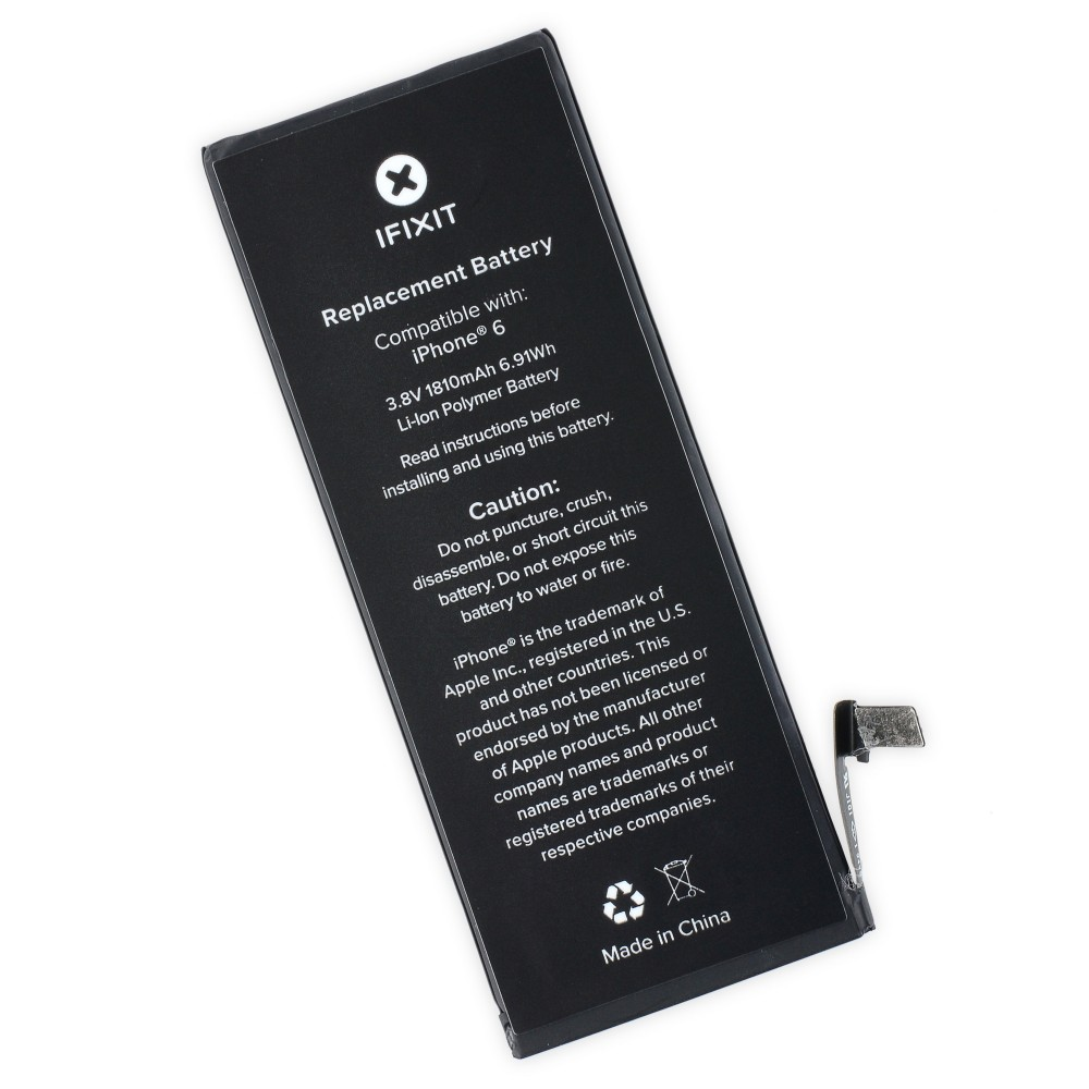 iFixit iPhone 6 Replacement Battery, IF268-002-1