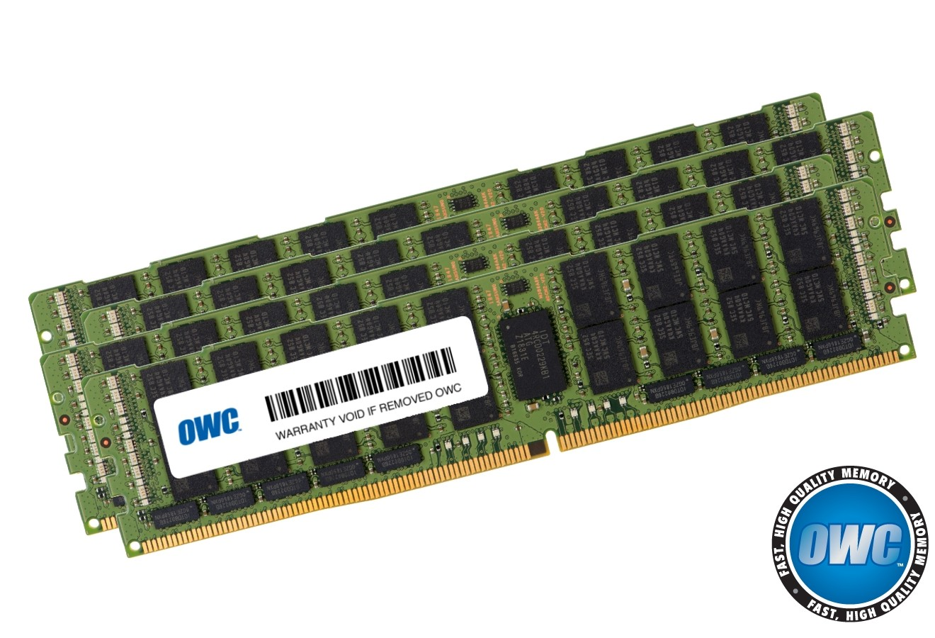 512GB (4 x 128GB) PC23400 DDR4 ECC 2933MHz 288-pin LRDIMM Memory Upgrade Kit, OWC2933L2M512