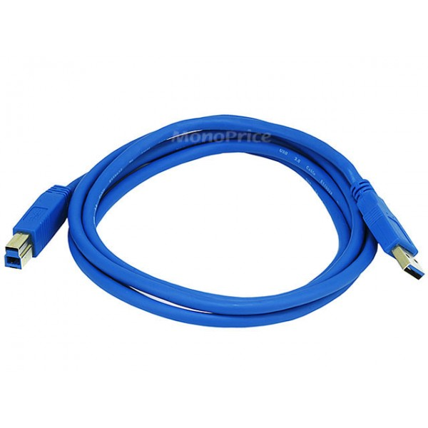 1.8m USB 3.0 A Male to B Male 28/24AWG Cable (Gold Plated), USB3-AB-6509