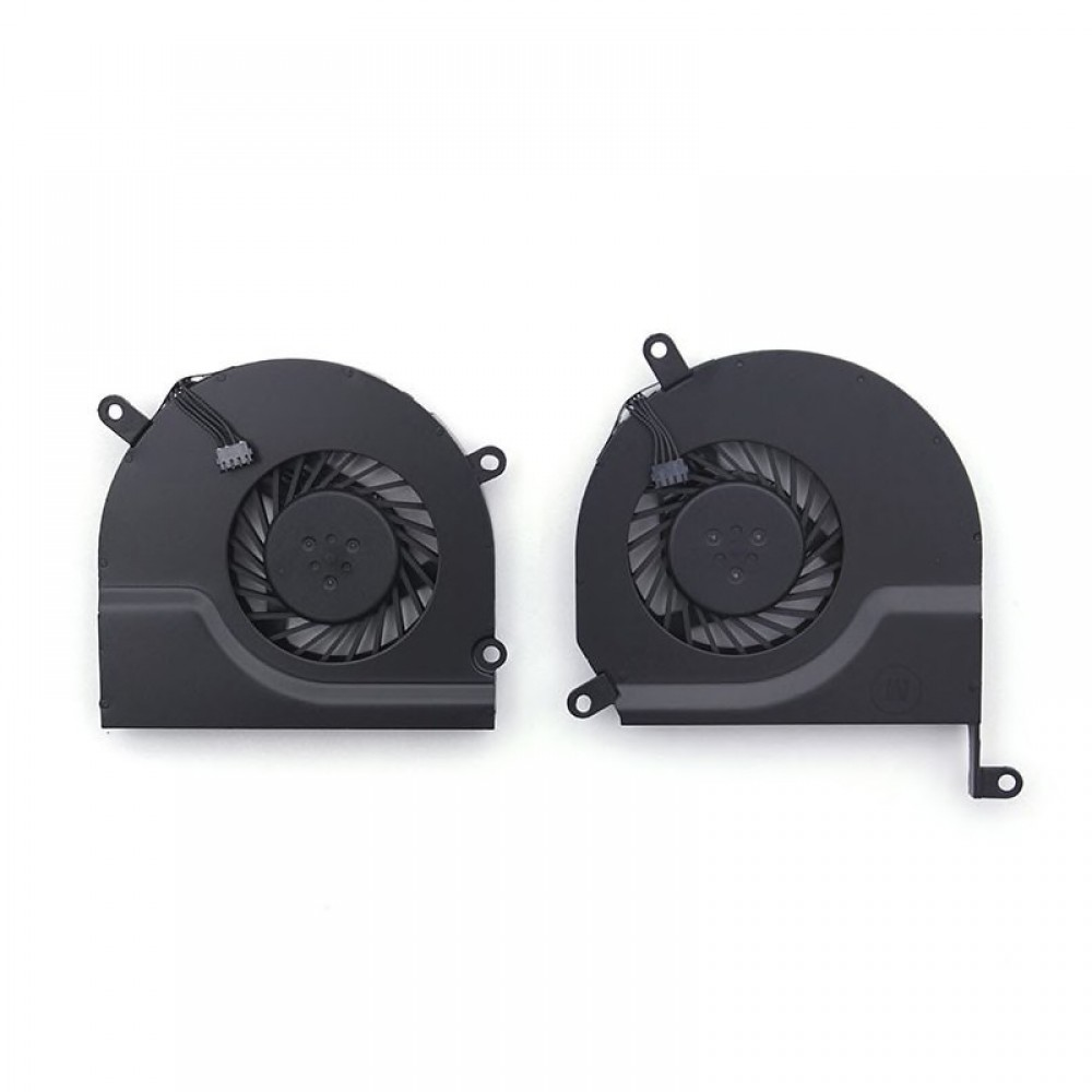 """MacBook Pro 15"""" Replacement Fans (Pair) - A1286 (Late 2008-Mid 2012 excluding Mid 2009 2.53 GHz), A1286(2009-2012)"""