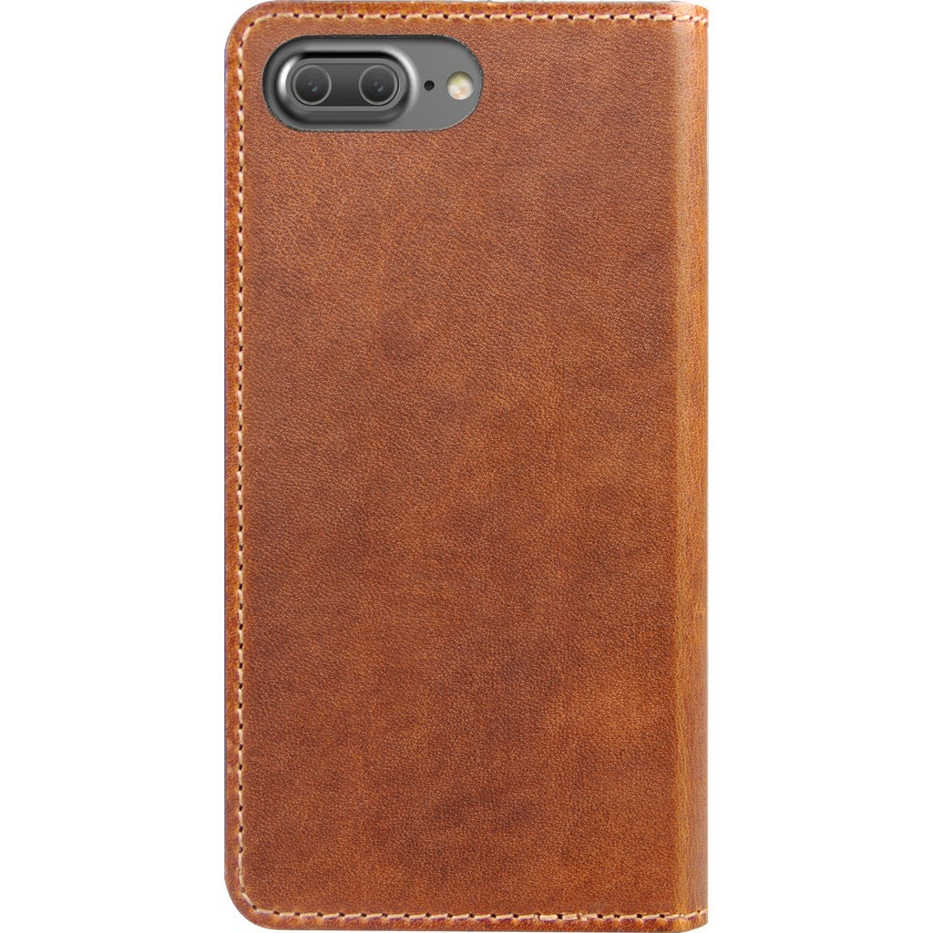 Nomad Horween Leather Folio Wallet for iPhone 7 Plus/8 Plus - Rustic Brown, CASE-I7PLUS-FOLIO-BROWN