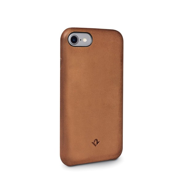 Twelve South Relaxed Leather for iPhone 8/7/6S - Cognac, 12-1639
