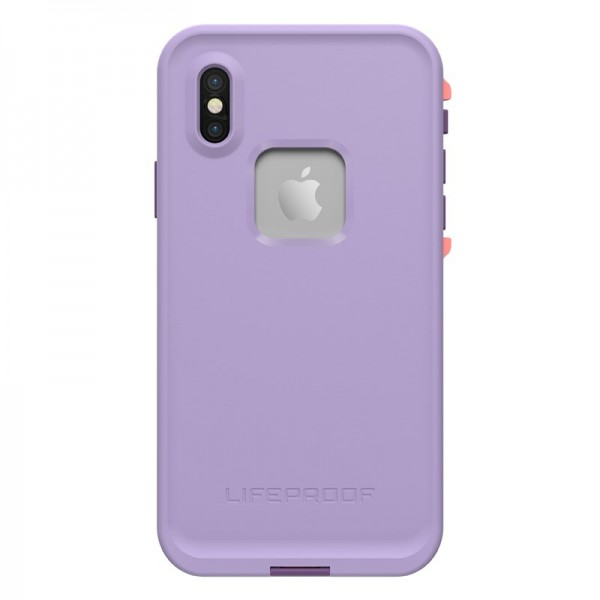 **DISCONTINUED** Lifeproof FRĒ SERIES Waterproof Case for iPhone X - Rose/Coral/Lilac, 77-57166