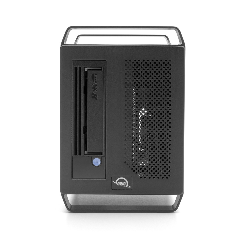 OWC Mercury Pro LTO Thunderbolt LTO-8 Tape Storage/Archiving Solution with 1.0TB SSD Staging Drive, OWCTB3LT8S01B