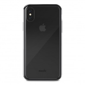 MOSHI Vitros for iPhone X/Xs Clear Protective Case - Raven Black