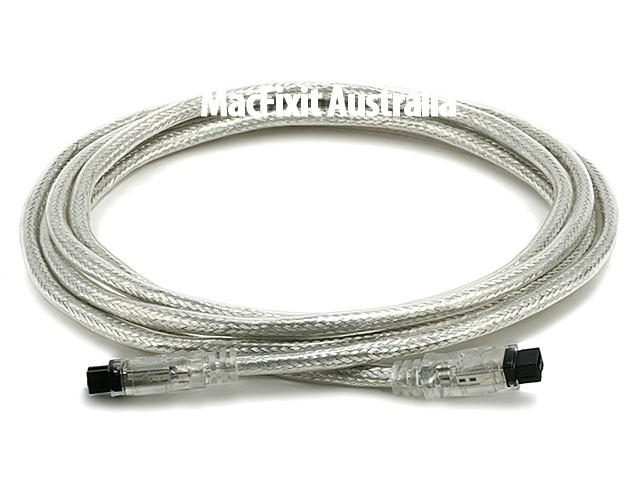 9 PIN/ 9PIN BETA FireWire 800 - FireWire 800 Cable, 10FT, CLEAR