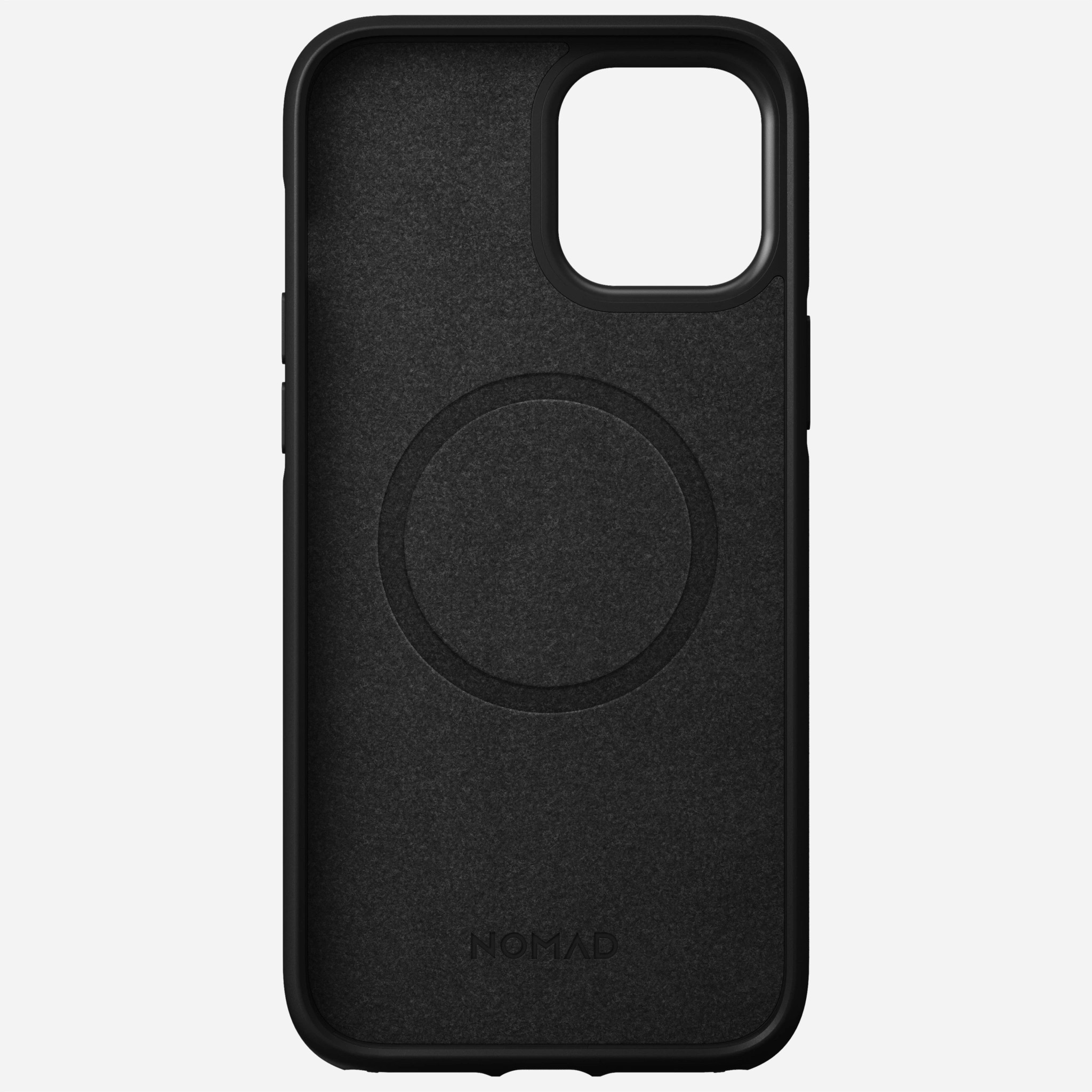Nomad - MagSafe Leather Case - iPhone 12 Pro Max - Black, NM01967385