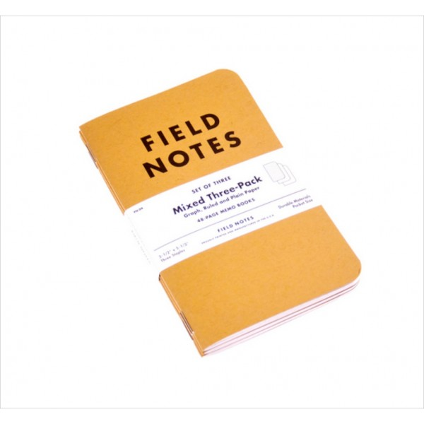 Field Notes 3-pack, IF145-168-1