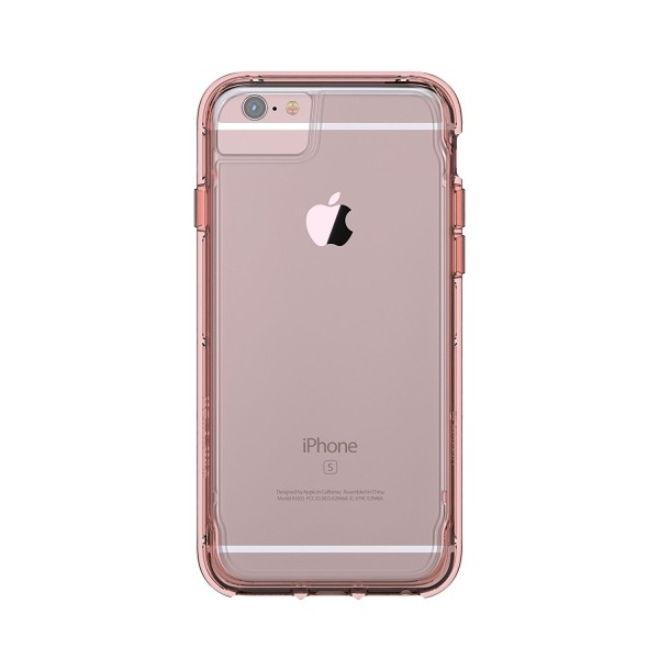 Griffin Survivor Clear - iPhone 7/6S - Rose Gold White, GB42313