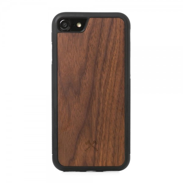 Woodcessories - EcoCase Bumper - iPhone 7/8/SE (2nd Gen) - Walnut, eco223