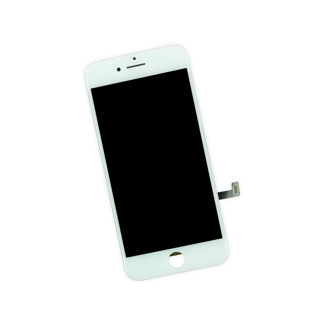iPhone 7 Complete LCD w/ Digitizer, Brand New - White, I7A-001W