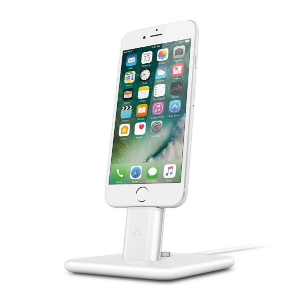 Twelve South HiRise Deluxe 2 for iPhone & iPad - White, 12-1628