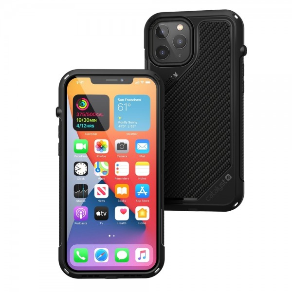 Catalyst Vibe Impact Case for iPhone 12 Pro Max - Black, CATVIBE12BLKL