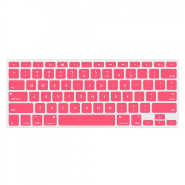 "NewerTech NuGuard Keyboard Cover for 2011-15 MacBook Air 13"", All MacBook Pro Retina - Rose, NWTNUGKBMBRRO"