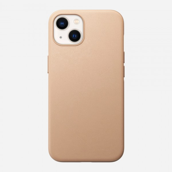 Nomad Modern Leather Case For iPhone 13 - Natural, NM01065685