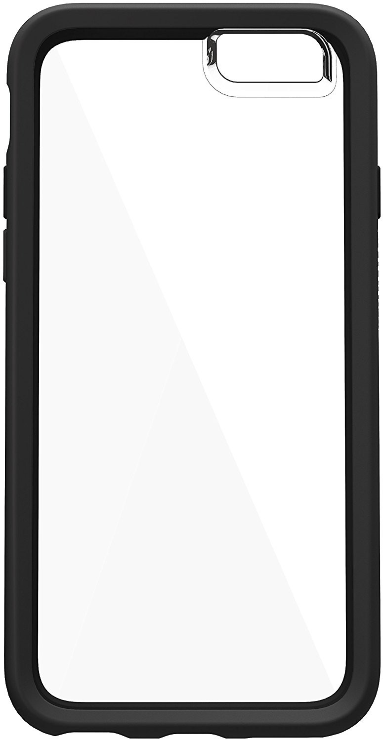 OtterBox Symmetry Clear Case for iPhone 6/6S - Black Crystal, 77-52358
