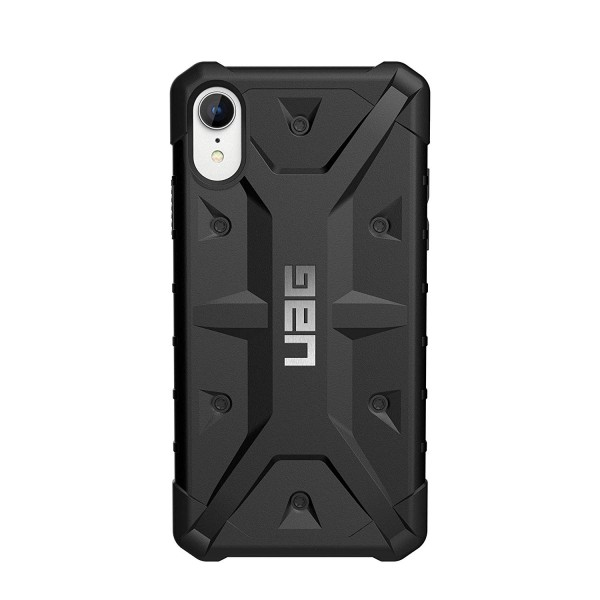 Urban Armor Gear iPhone XR Pathfinder Feather-Light Rugged Military Drop Tested iPhone Case - Black, 111097114040
