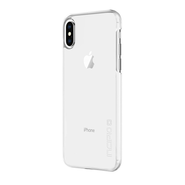 Incipio feather Pure Case with Ultra -Thin Snap-On Design for iPhone X - Clear, IPH-1644-CLR
