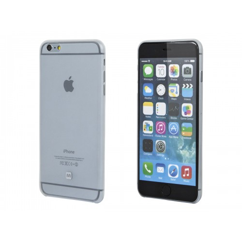 Ultra-thin Shatter-proof Case for 5.5-inch iPhone 6 Plus and 6s Plus - Clear Frost